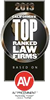2013 California's Top Ranked Law Firms